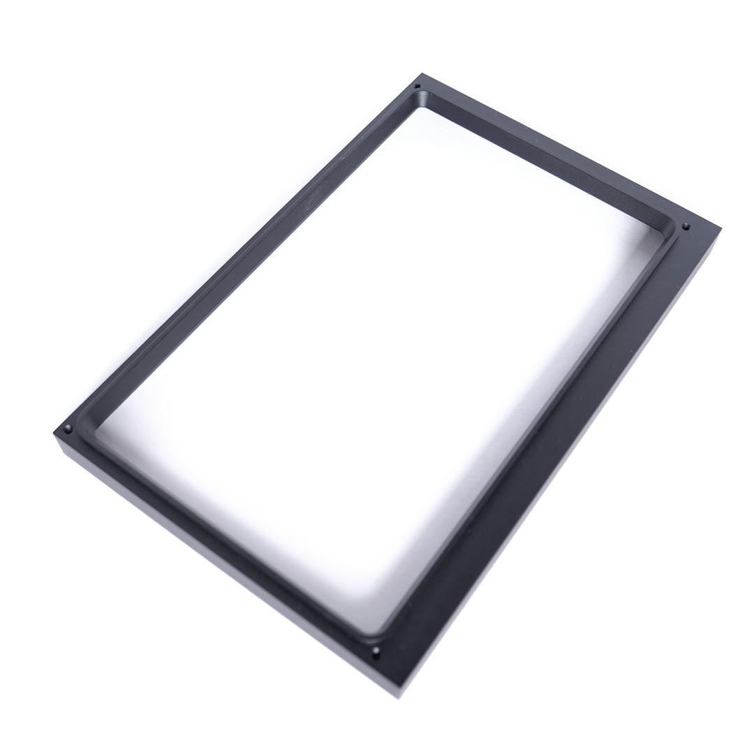 7″ Frontrahmen Aluminium