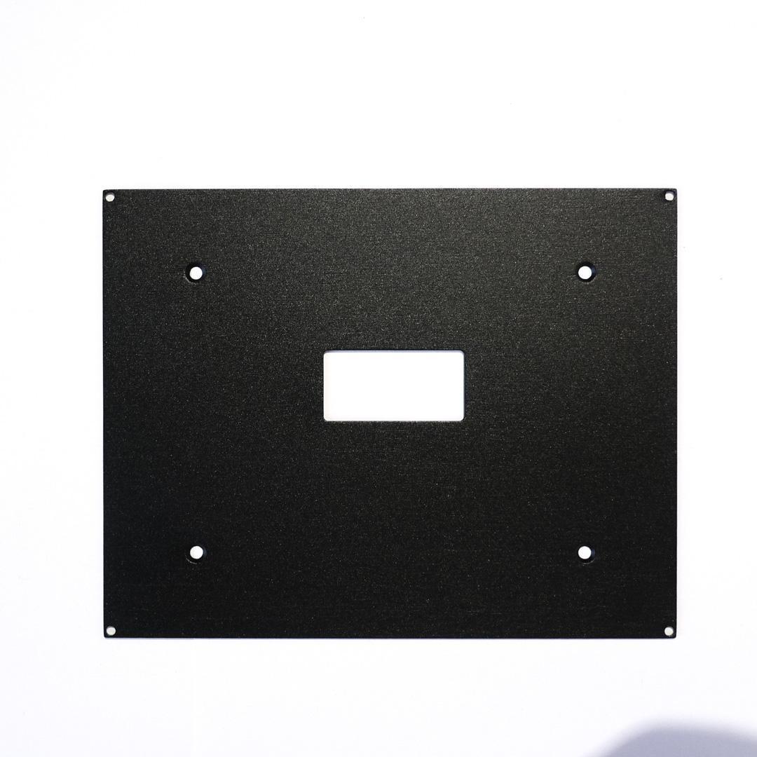 5,7″ Backplate Aluminium